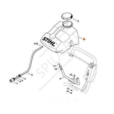 Гидроемкость Kit TS-400-800 Stihl к FW-20