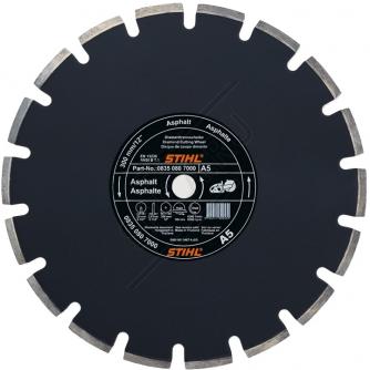 Алмазный диск для резки асфальта и свежего монолитного бетона  400 мм А 80