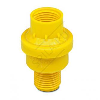 Нагнетательный клапан SG 20 жёлтый 1,0 бар