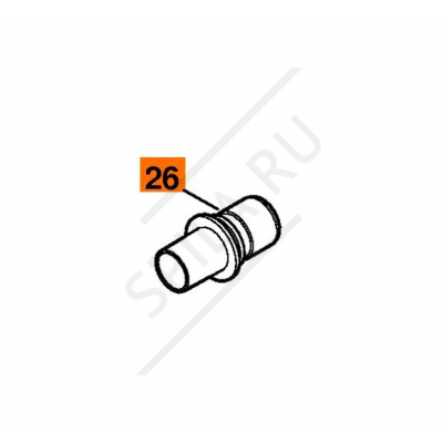 Муфта трубы SE 122/122E