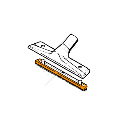 Сменная щетина SE 61-122Е для щетки ширина 330 мм