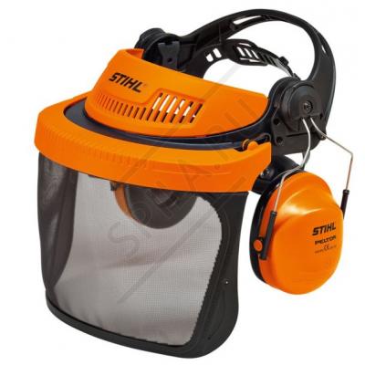 Наушники с защитой глаз сетка Profi G500 STIHL