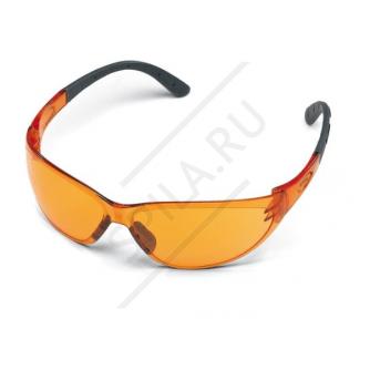 Очки защитные Контраст оранжевые STIHL