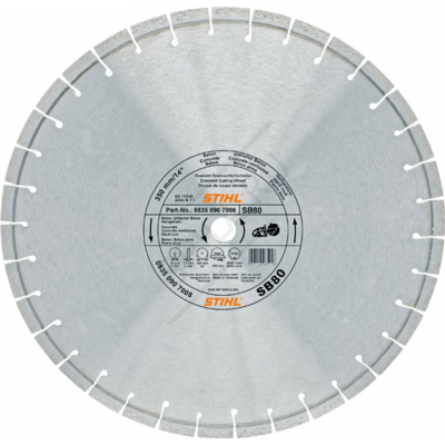 Алмазный диск камень,бетон,гранит 350 мм.SВ80 new
