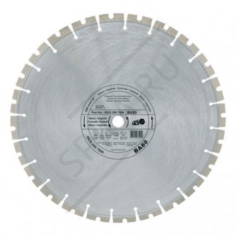 Алмазный диск асфальт, армир. бетон 400 мм. ВА80 new