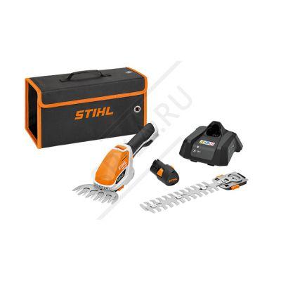 Аккумуляторные мотоножницы STIHL HSA 26 SET (AS 2, Al 1)